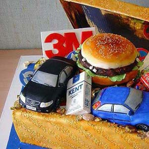 Brands Cake