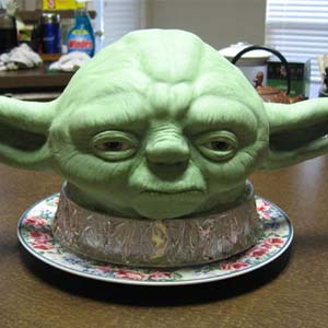 Yoda Cake Sculpture
