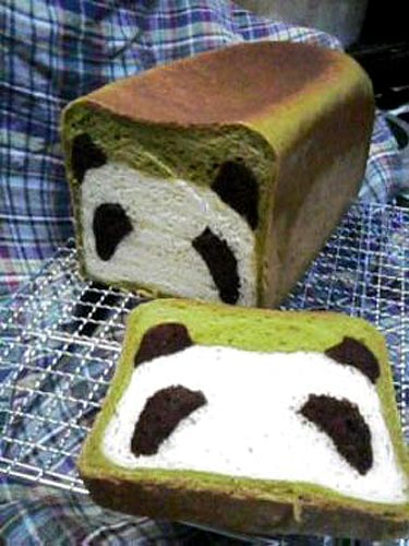 Panda Bread Loaf
