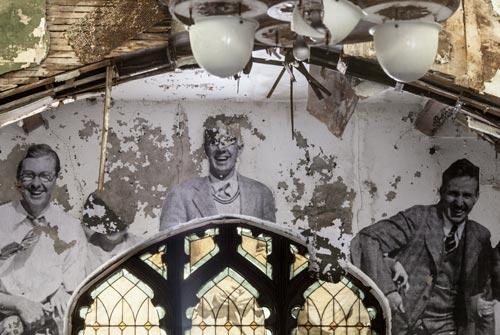 Abandoned Church Art