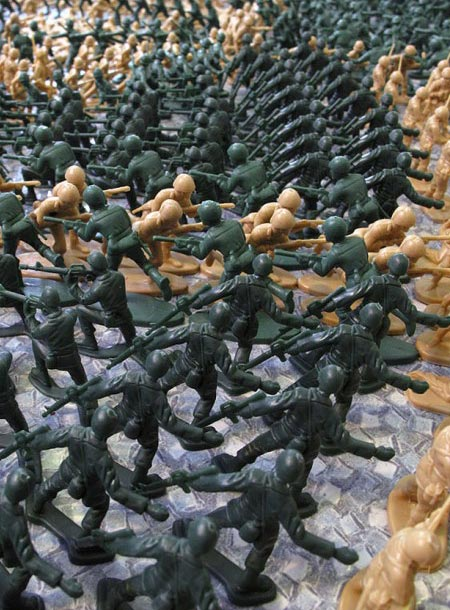 Army Men Formation