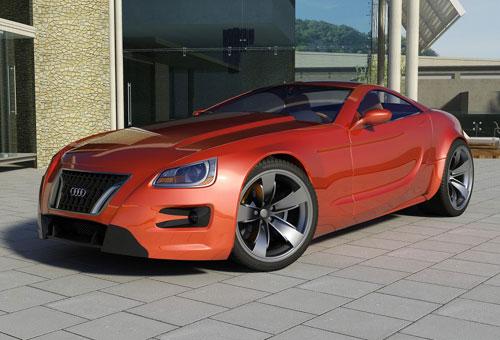 Audi Concept Car Design