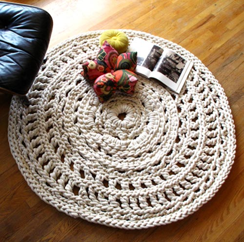 Doily Area Rug