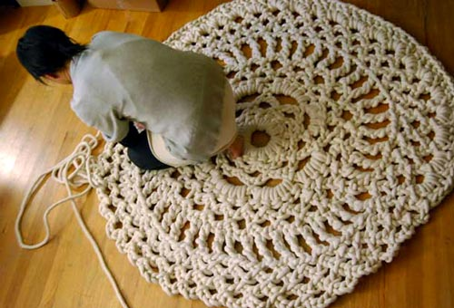 Handmade Mega Doily Rug