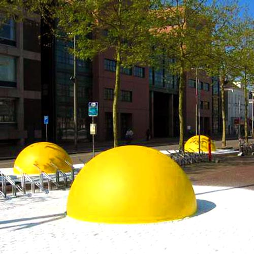 Giant Egg Art Installation