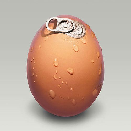 Pull Tab Egg Refreshment