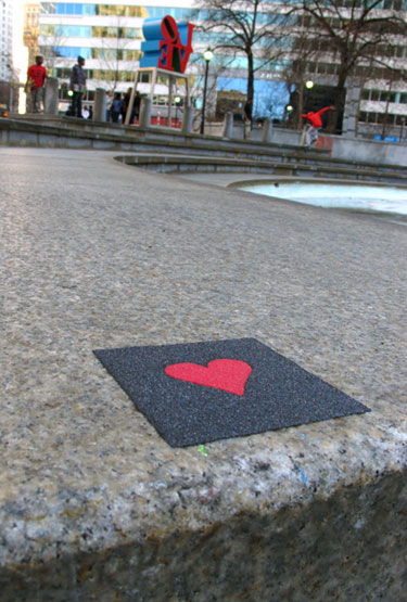 Heart Grip Tape
