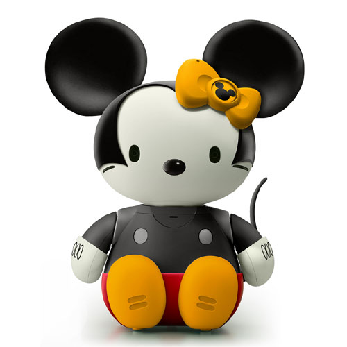Hello Kitty Mickey Mouse Artwork
