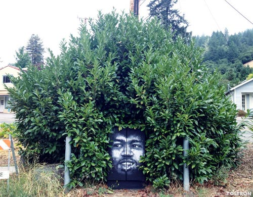 Jimi Hendrix Street Art