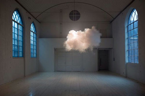 Indoor Clouds Art Installation
