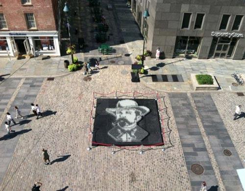 Jack Daniels Pixel Portrait