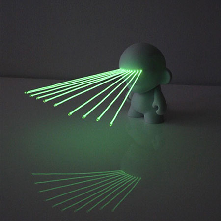 Green Laser Eyes Munny