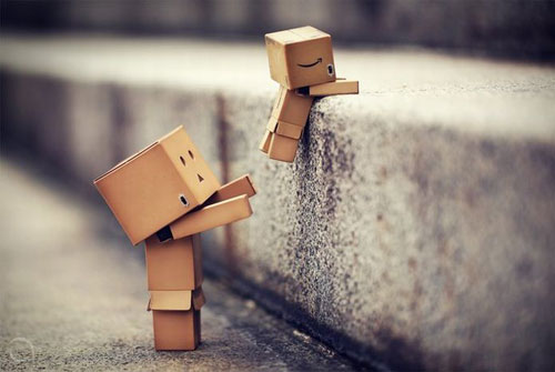 Helping Danbo