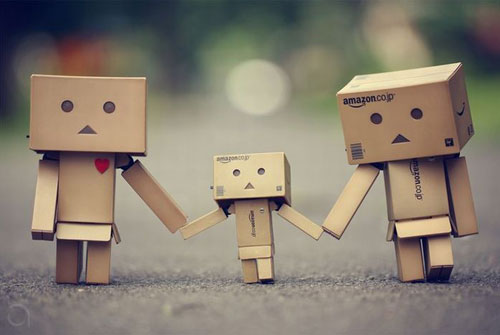 Danbo Family Photo