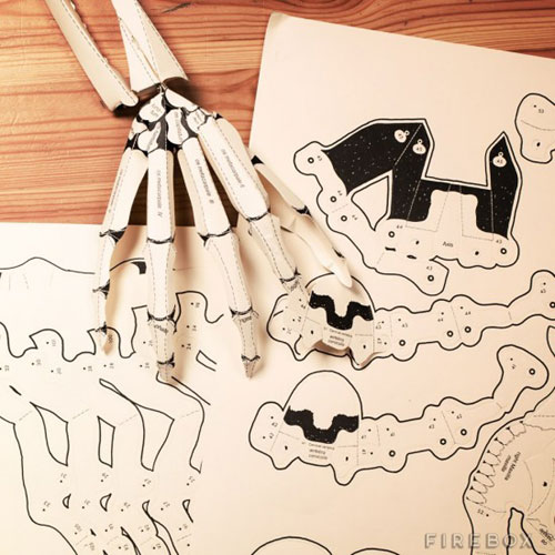 DIY Paper Skeleton Project