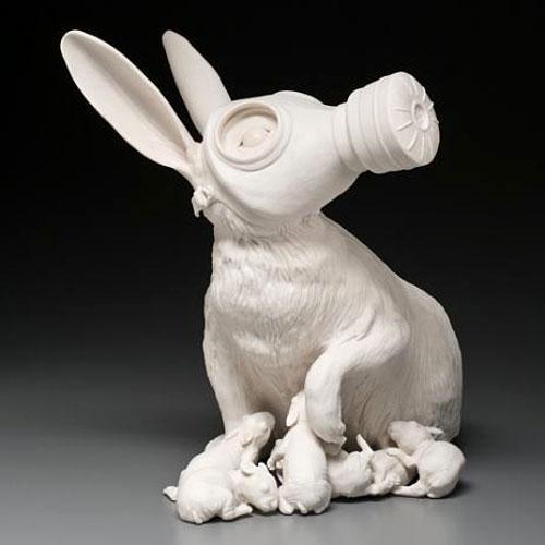 Gas Mask Rabbit