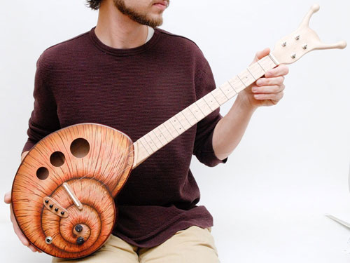 Snail Shape Ukulele