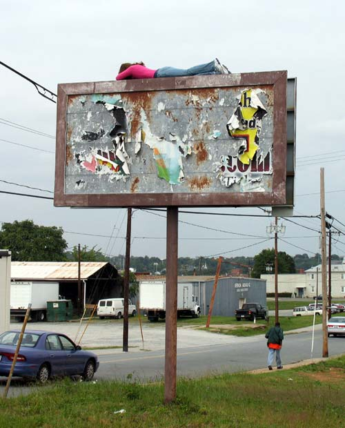 Billboard Street Art