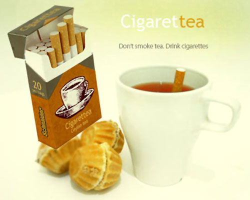 Don't Smoke Tea, Drink Cigarettes