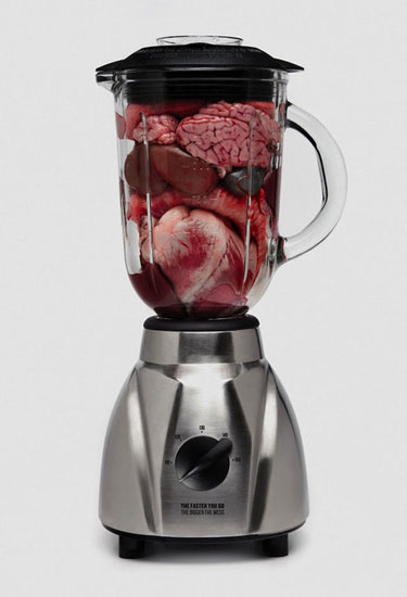 Organs In A Blender