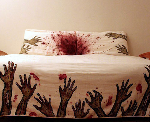 Zombie Bedsheets and Pillows