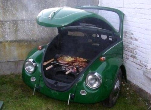 VW Beetle Barbeque