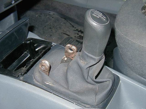 Locking Stick Shift Immobiliser