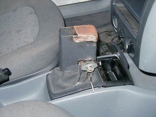 Locked Stick Shift