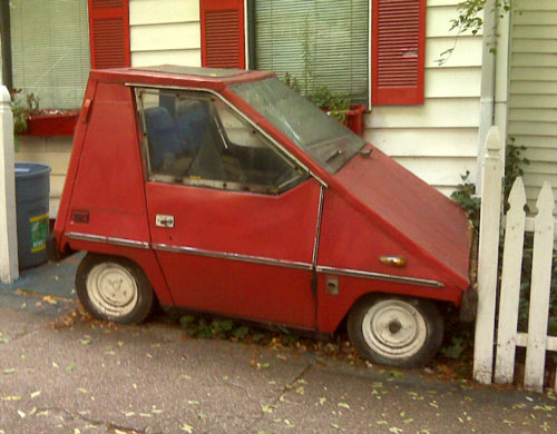 1970s Electric CitiCar