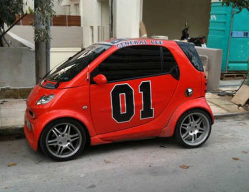 General Lee Smart Car