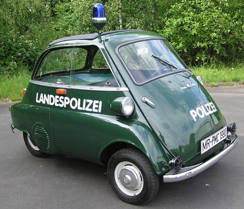 Isetta Police Car Funny Bizarre Amazing Pictures Videos - Funny old cars
