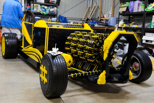 Life Size Working Lego Car