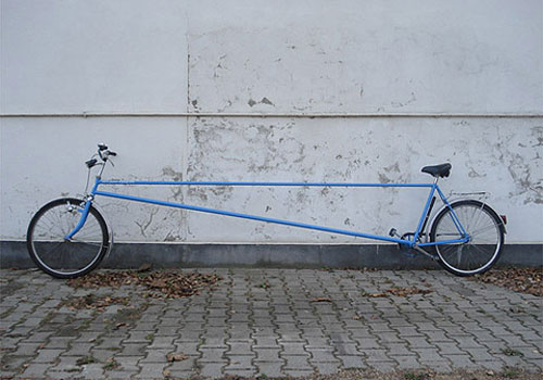 Stretched Bike Frame