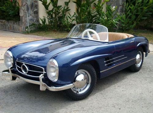 Miniature Convertible Mercedes 300SL
