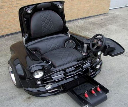 Mini-Cooper Converted Chair