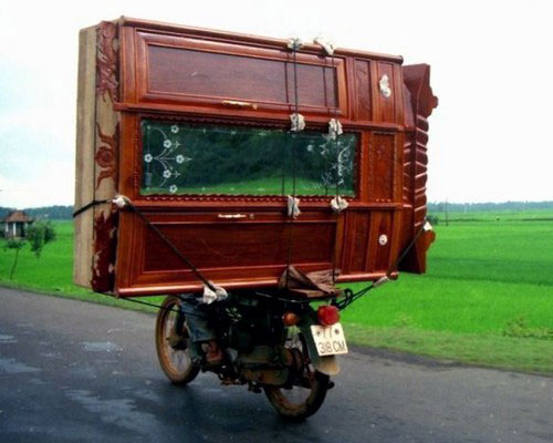 Motorcycle Furniture Mover