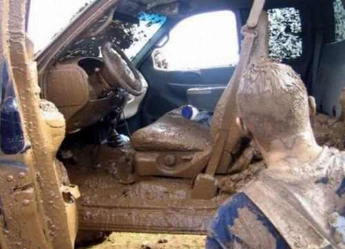 Mud In Truck