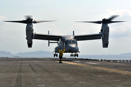 MV-22 Osprey Helicopter