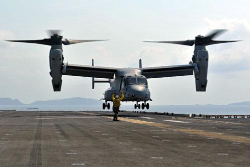MV-22 Osprey Helicopter