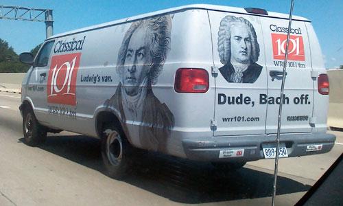 Classical Music Radio Van