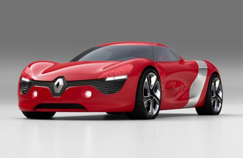 Side of Renault Concept Car