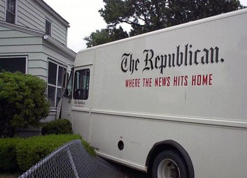 Republican News Truck Accident