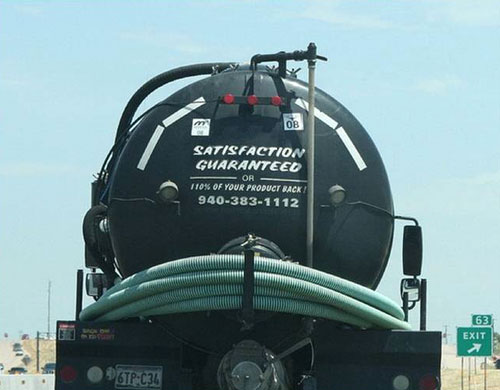 Sewage Truck | Return Guarantee