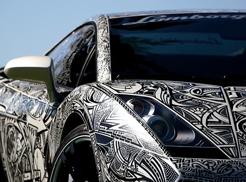 Sharpie Lamborghini