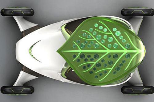 Solar Powered Leaf Concept Car