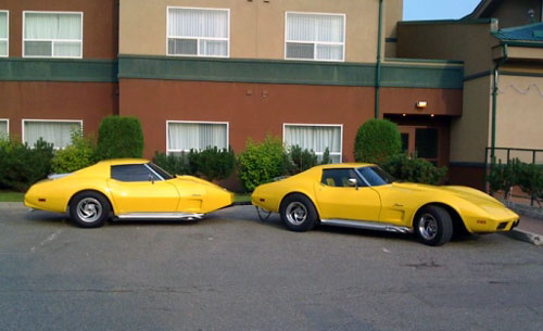 Corvette Stingray Trailer