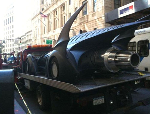 Towing The Batmobile