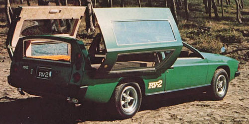 1972 Toyota RV-2 Concept Car