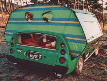 Toyota RV-2 Getaway Car With Rear Tent