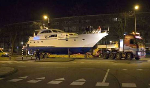 Late Night Yacht Transport